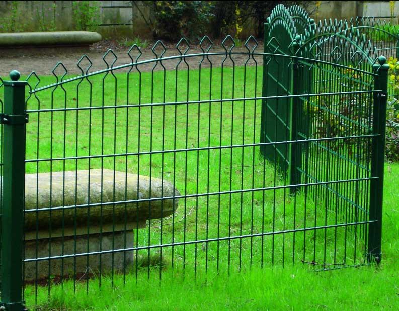 Как сделать зелёный забор 95
